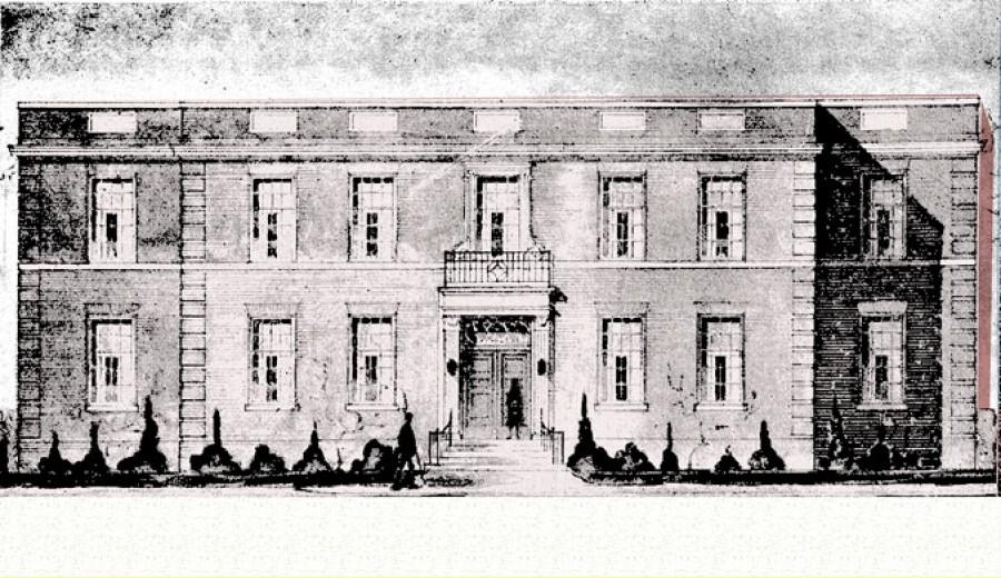 Original Mt Sinai Hospital, Yorkville Ave., Toronto, 1934