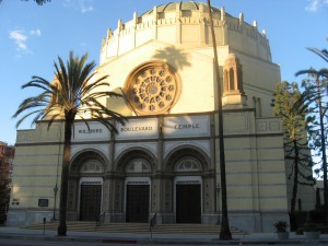 Only in Los Angeles: the Wilshire Boulevard Temple