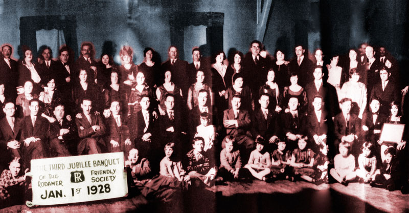 Radomer Friendly Society, 3rd annual banquet, 1928
