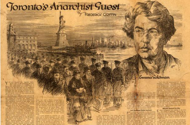 essays on emma goldman Essay few people are fearless speakers as students, we generally feel the rumble of butterflies in our stomachs, but the most we have to lose is a good grade.