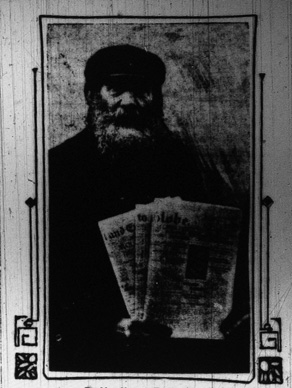 Profile of an old Russian Jew in Toronto (1913)