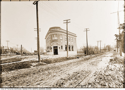 Vaughan Rd at Bathurst, 1912 (CTA)