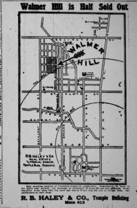 Walmer development 1912
