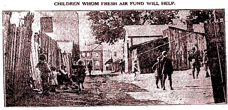 Ward Children 1911 (Tor Star)
