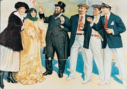 Yiddish-troupe