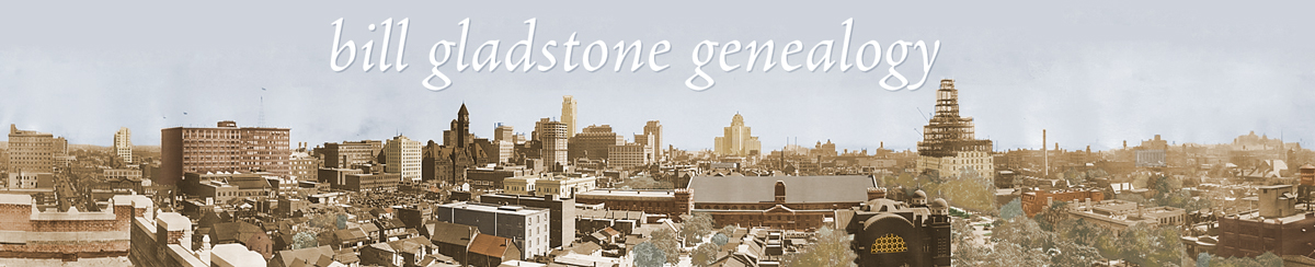 Bill Gladstone Genealogy
